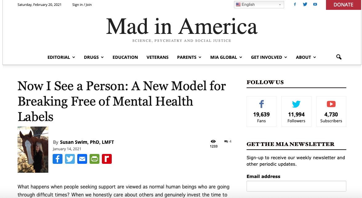 A New Model for Breaking Free of Mental Health Labels